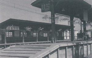 昭和32年ごろのひばりヶ丘駅